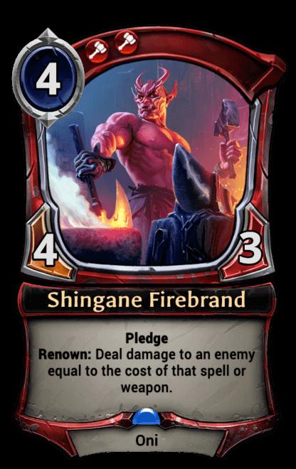 Card image for Shingane Firebrand