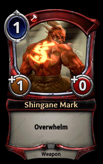 Card image for Shingane Mark