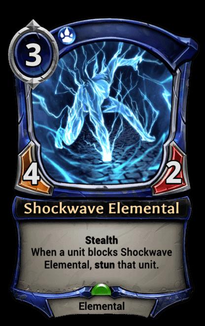 Card image for Shockwave Elemental