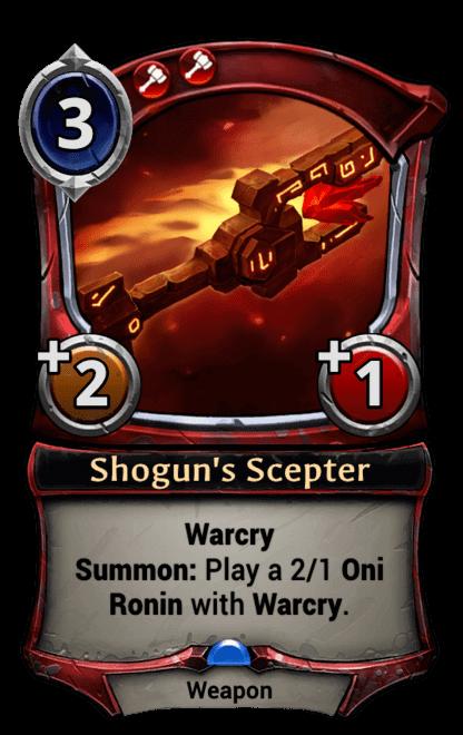 Card image for Shogun's Scepter