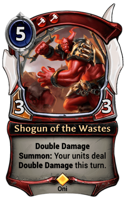 Card image for Shogun of the Wastes