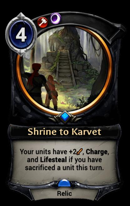 Card image for Shrine to Karvet