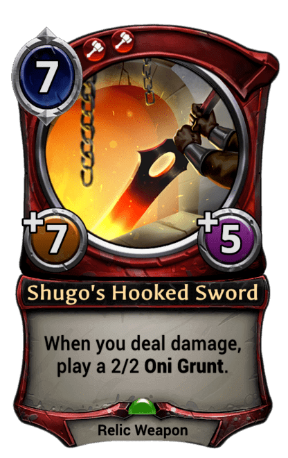 Card image for Shugo's Hooked Sword