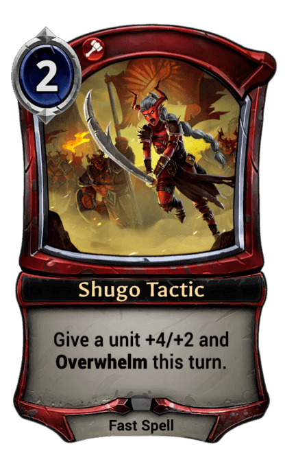 Card image for Shugo Tactic
