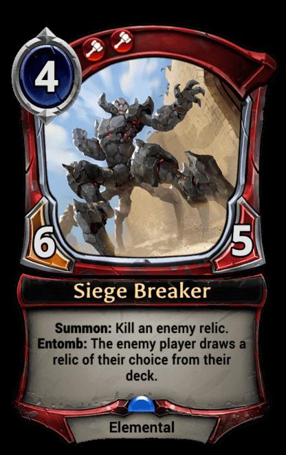 Card image for Siege Breaker