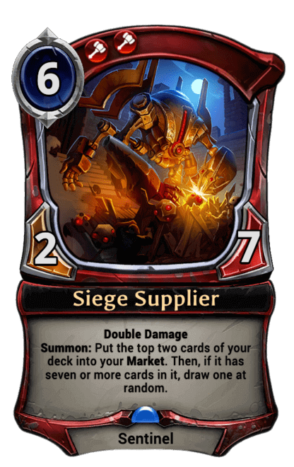 Card image for Siege Supplier