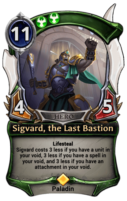 Card image for Sigvard, the Last Bastion