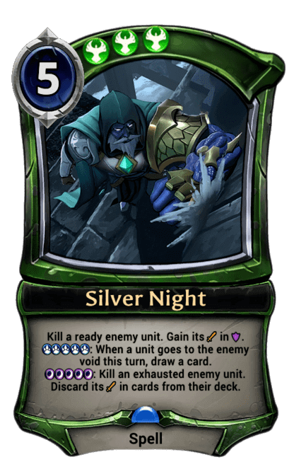 Card image for Silver Night
