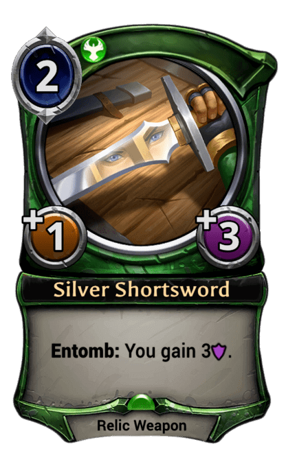 Card image for Silver Shortsword