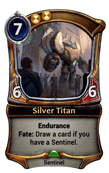 Card image for Silver Titan