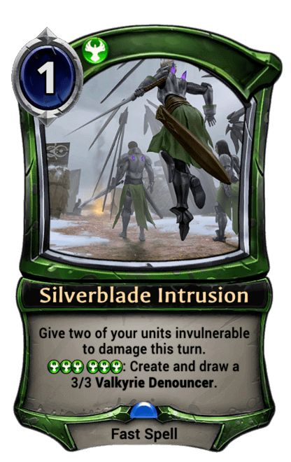 Card image for Silverblade Intrusion