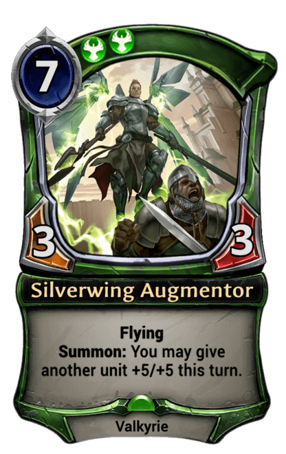 Card image for Silverwing Augmentor