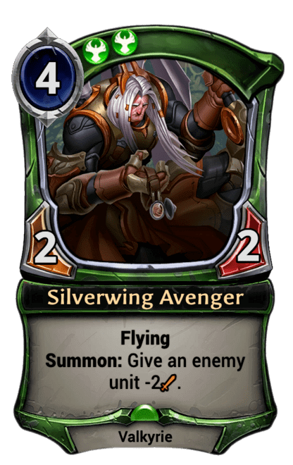 Card image for Silverwing Avenger