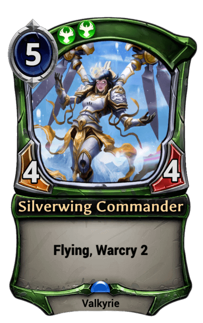 Card image for Silverwing Commander