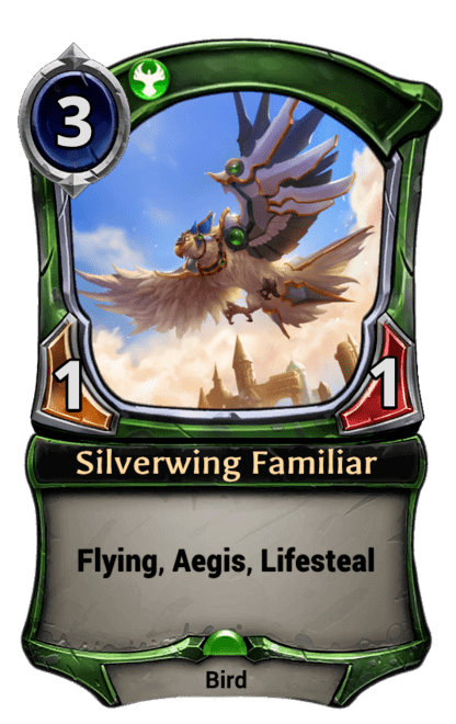 Card image for Silverwing Familiar
