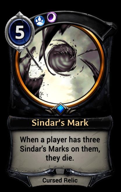 Card image for Sindar's Mark