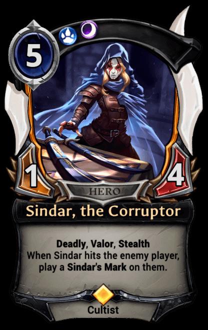 Card image for Sindar, the Corruptor