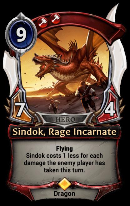 Card image for Sindok, Rage Incarnate