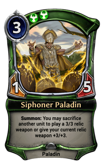 Card image for Siphoner Paladin