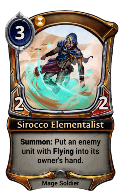 Card image for Sirocco Elementalist