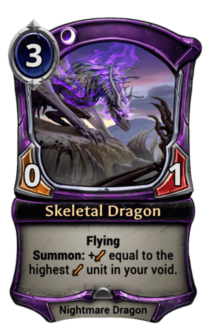 Card image for Skeletal Dragon