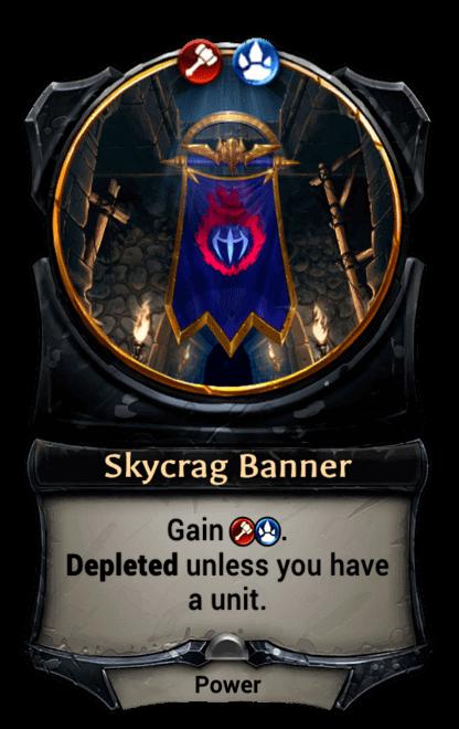 Card image for Skycrag Banner