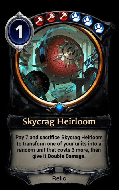Card image for Skycrag Heirloom