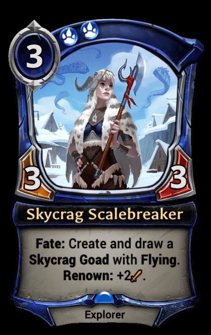 Card image for Skycrag Scalebreaker