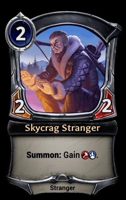 Card image for Skycrag Stranger