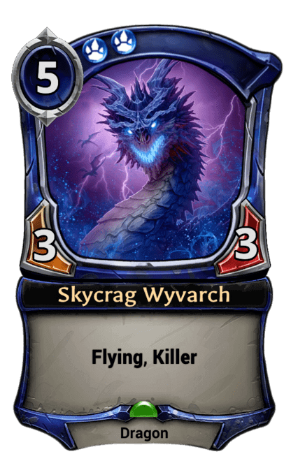 Card image for Skycrag Wyvarch