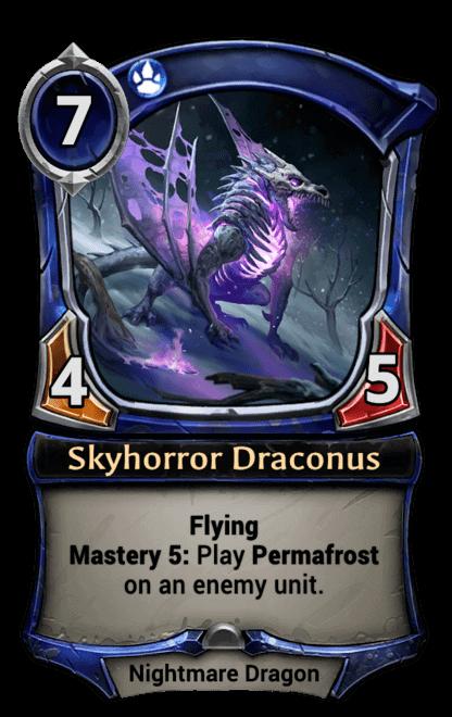 Card image for Skyhorror Draconus