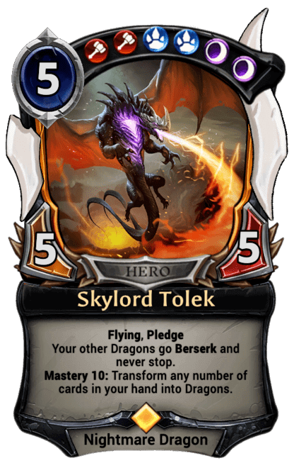 Card image for Skylord Tolek