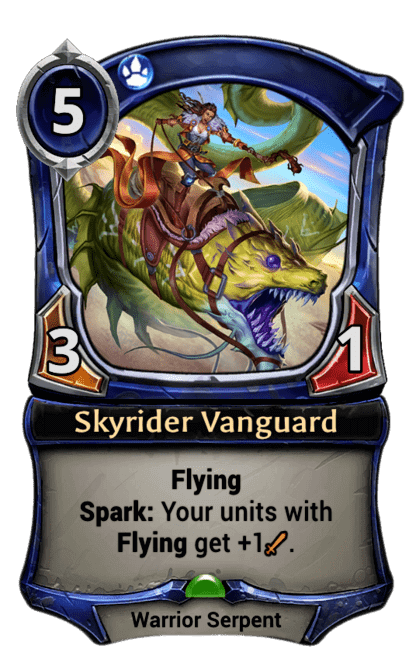 Skyrider Vanguard Eternal Cards Eternal Warcry