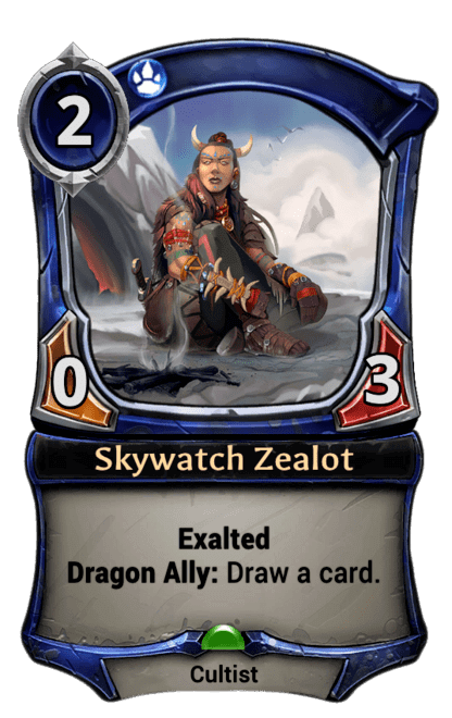 Card image for Skywatch Zealot