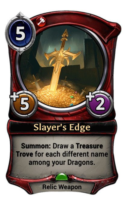 Card image for Slayer's Edge