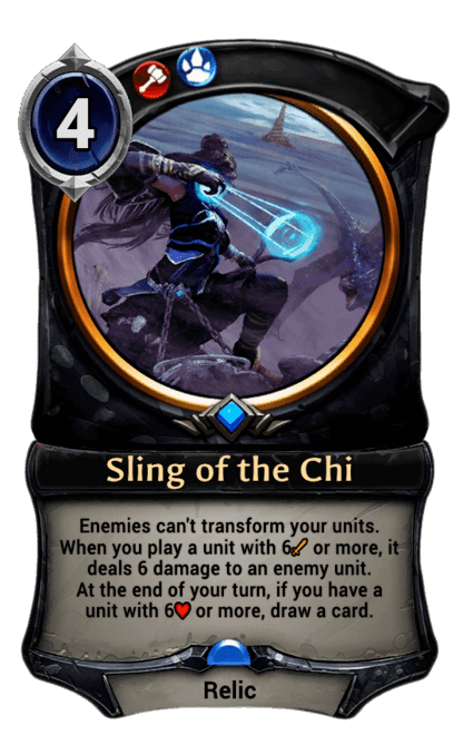 Card image for Sling of the Chi