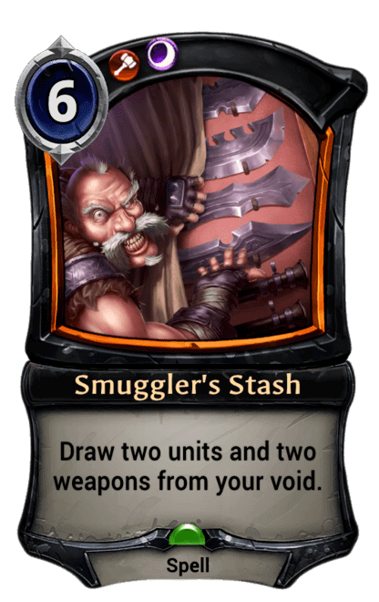 Card image for Smuggler's Stash