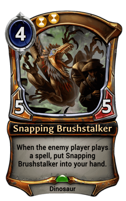 Card image for Snapping Brushstalker