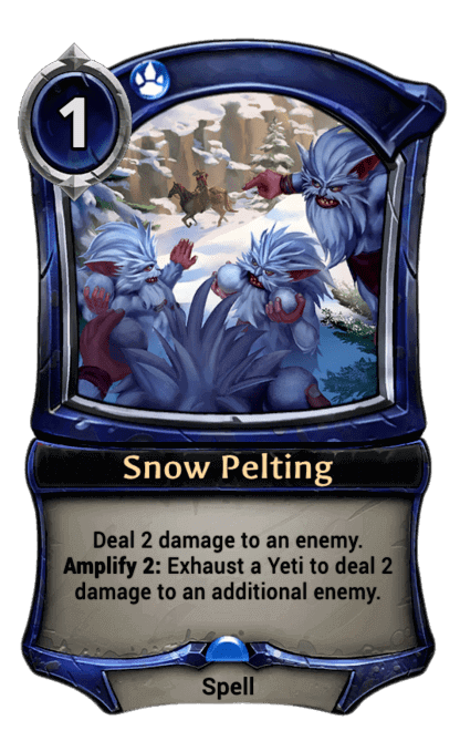 Card image for Snow Pelting