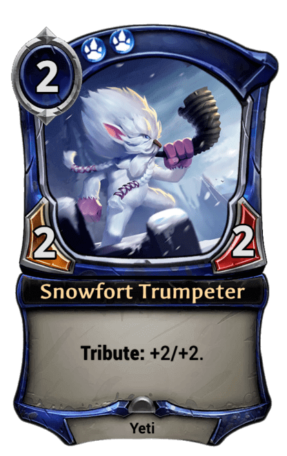 Card image for Snowfort Trumpeter