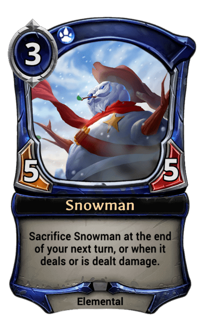 Card image for Snowman