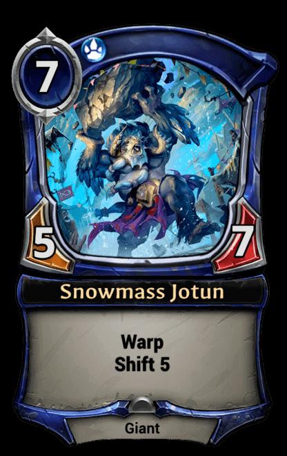 Card image for Snowmass Jotun