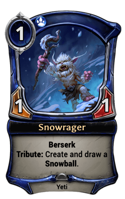 Card image for Snowrager