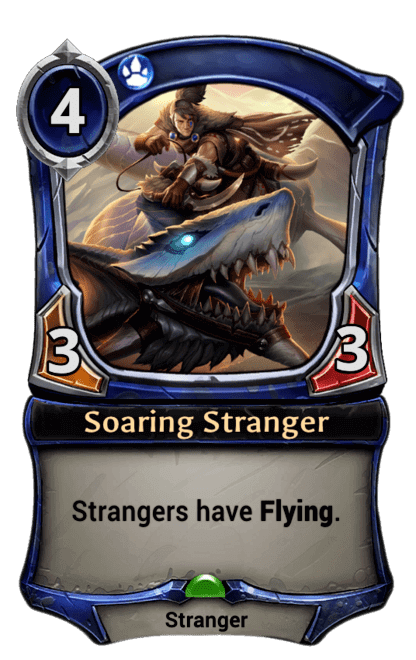 Card image for Soaring Stranger