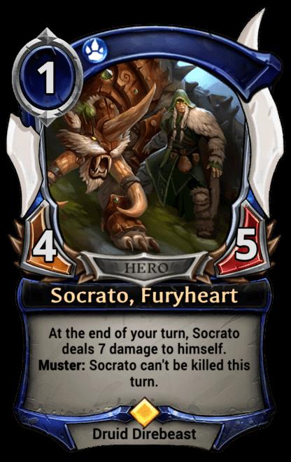 Card image for Socrato, Furyheart