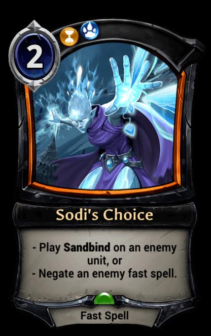 Card image for Sodi's Choice