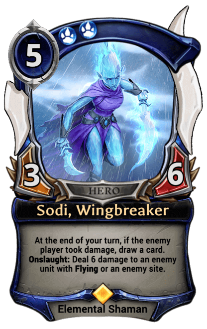Card image for Sodi, Wingbreaker