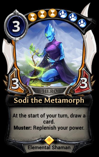 Card image for Sodi the Metamorph