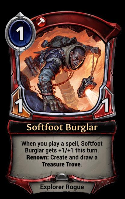 Card image for Softfoot Burglar