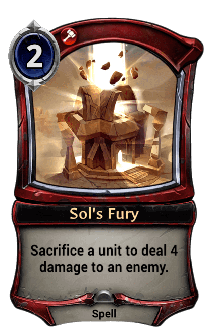 Card image for Sol's Fury